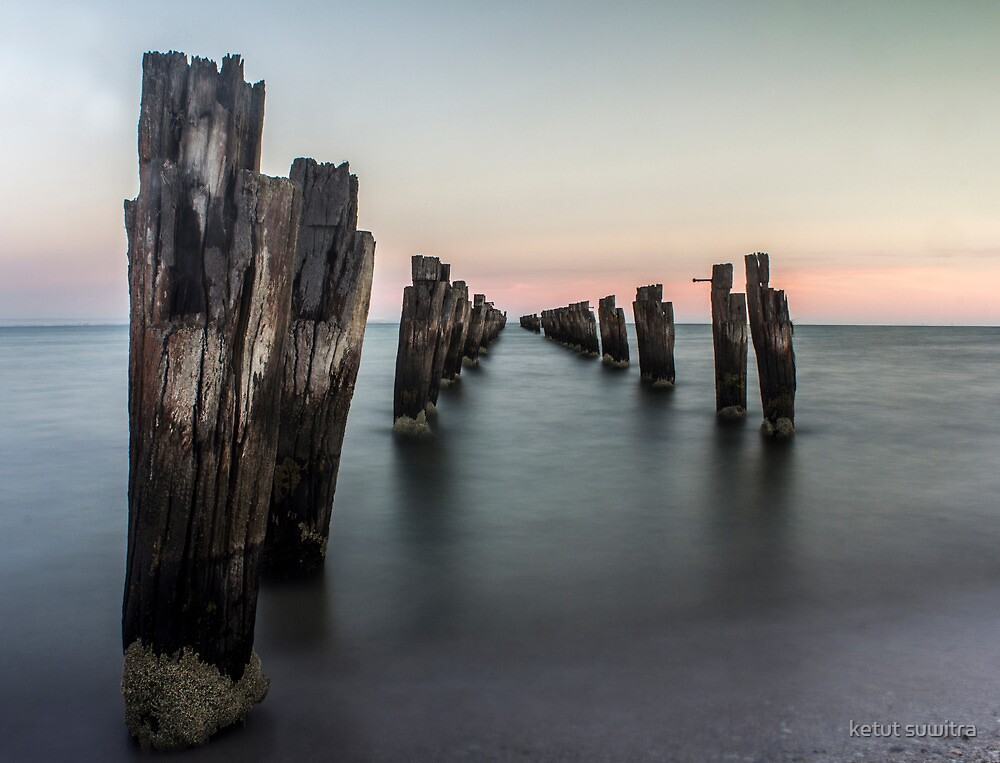 the old jetty by ketut suwitra