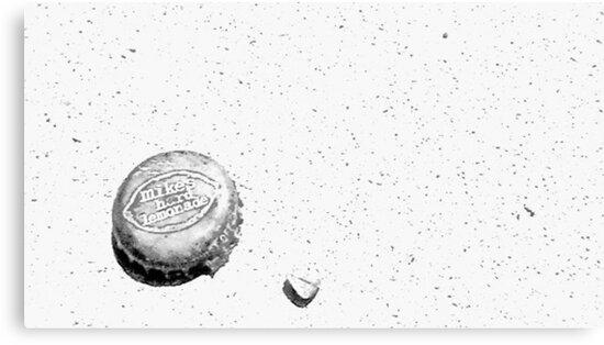 Mike's Hard Lemonade Black & White by MJ Campbell