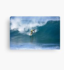 Miguel Pupo at Pipe Masters Canvas Print