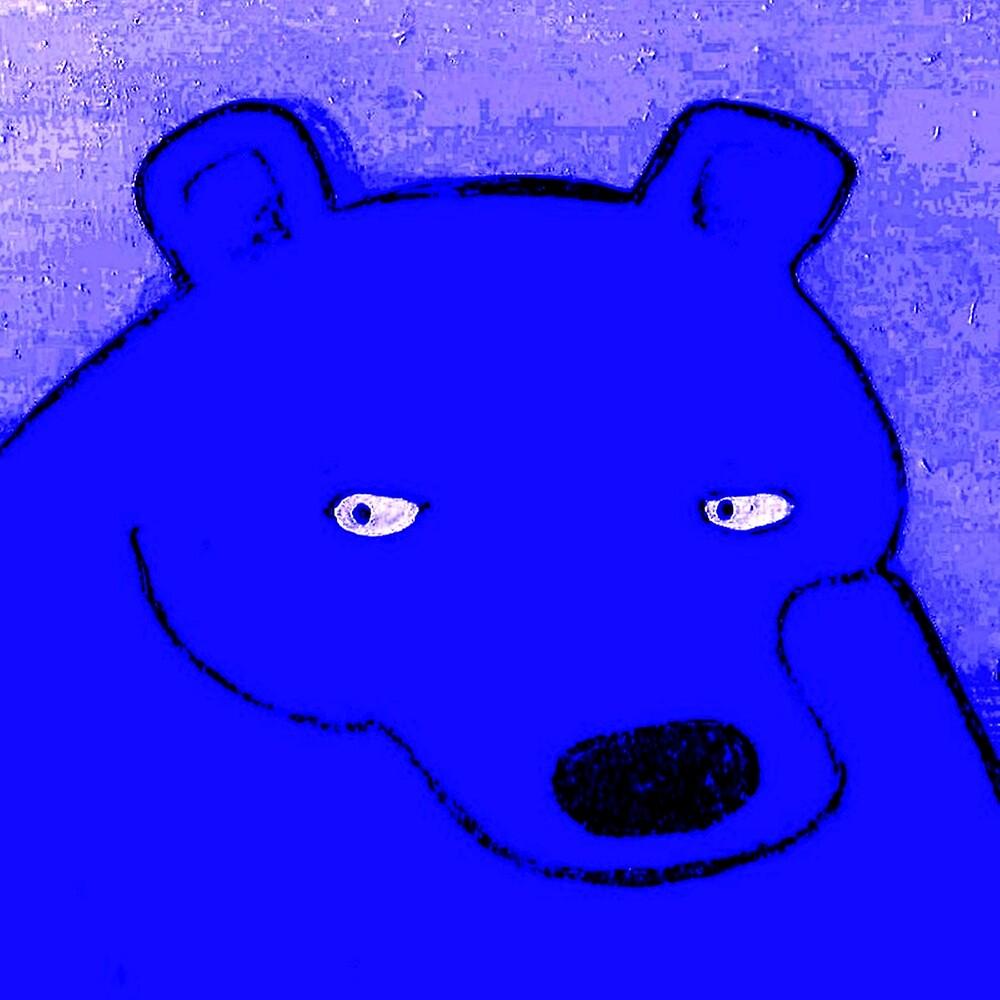 BLUE BEAR by paulvolker