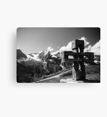 Alp Austria - Mountain - Kreuz Canvas Print