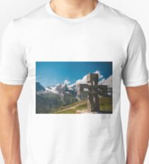 Alp Austria - Mountain - Kreuz T-Shirt