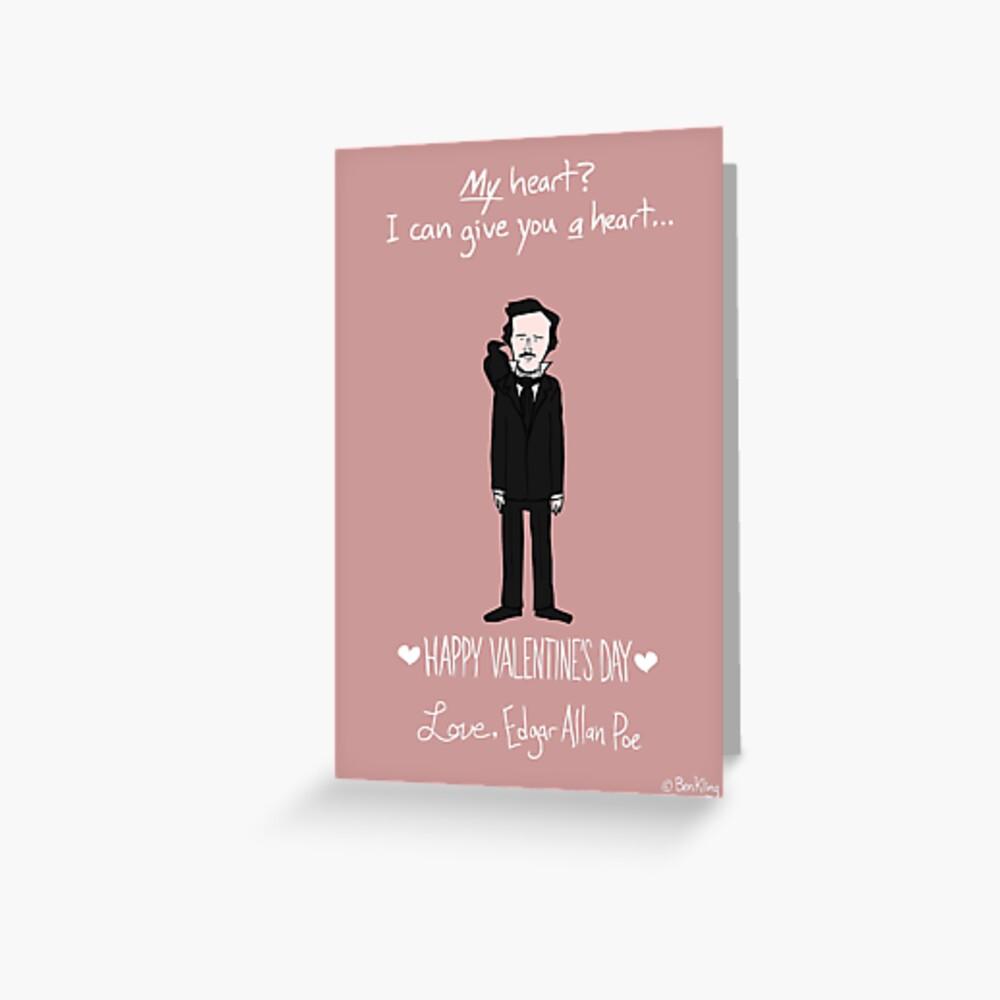 Edgar Allan Poe Tarjetas de felicitación
