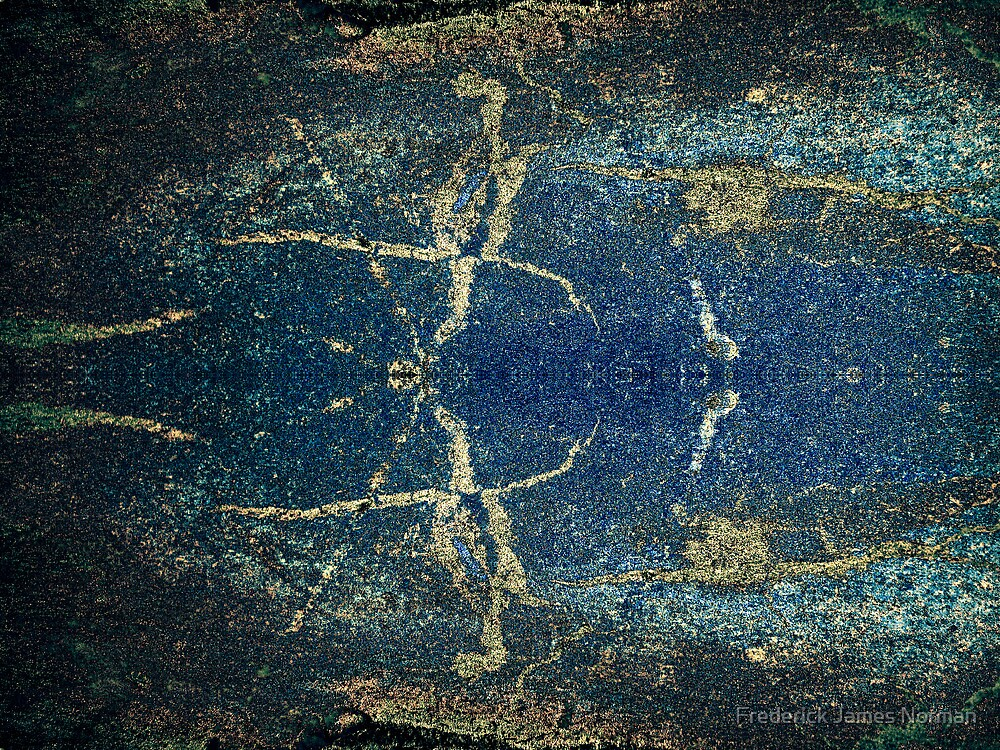 Abstract Beetle by Frederick James Norman