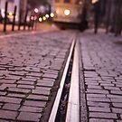 Tram in Lisbon by Luka Skracic