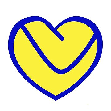 LUFC Heart by KenDeMange