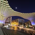 Seville at Night by Luka Skracic