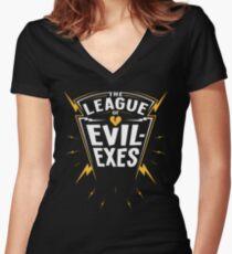 Scott Pilgrim - The League of Evil-Exes Women's Fitted V-Neck T-Shirt