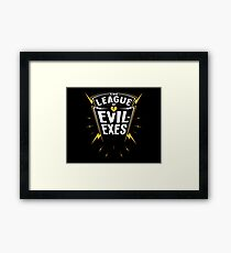 Scott Pilgrim - The League of Evil-Exes Framed Print