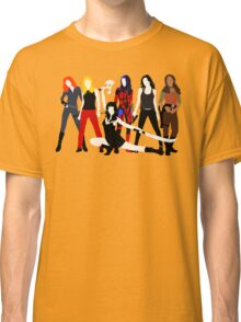 Women of the Whedonverse   Classic T-Shirt