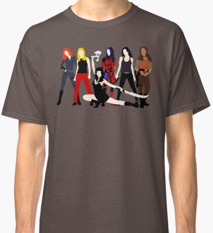 Mujeres del Whedonverso Camiseta clásica