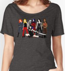 Women of the Whedonverse   Women's Relaxed Fit T-Shirt