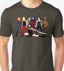 Women of the Whedonverse   Unisex T-Shirt
