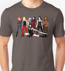 Camiseta ajustada Mujeres del Whedonverso