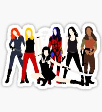 Women of the Whedonverse   Sticker