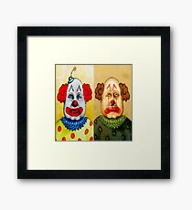 The Cakes Twins Framed Print