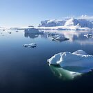Reflecting on Antarctica 063 by Karl David Hill