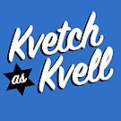 Kvetch as Kvell- Handlettering in Yiddish by mikewirth