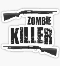 zombie killer shotgun Sticker