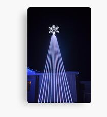Lazer lights Canvas Print