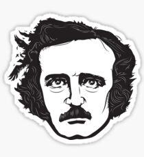 Edgar Allan Poe Sticker