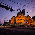 Flinders Street Station by Martin Pot
