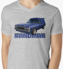HZ Holden Sandman Panel Van - Windsor Blue Men's V-Neck T-Shirt