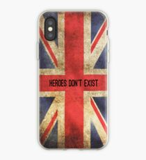 Heroes Don't Exist iPhone Case iPhone Case