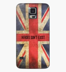 Heroes Don't Exist iPhone Case Case/Skin for Samsung Galaxy
