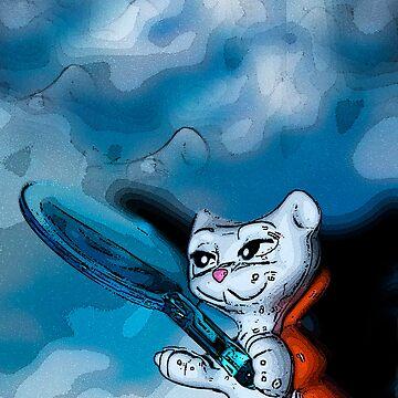 Kinder Cat by SteveW
