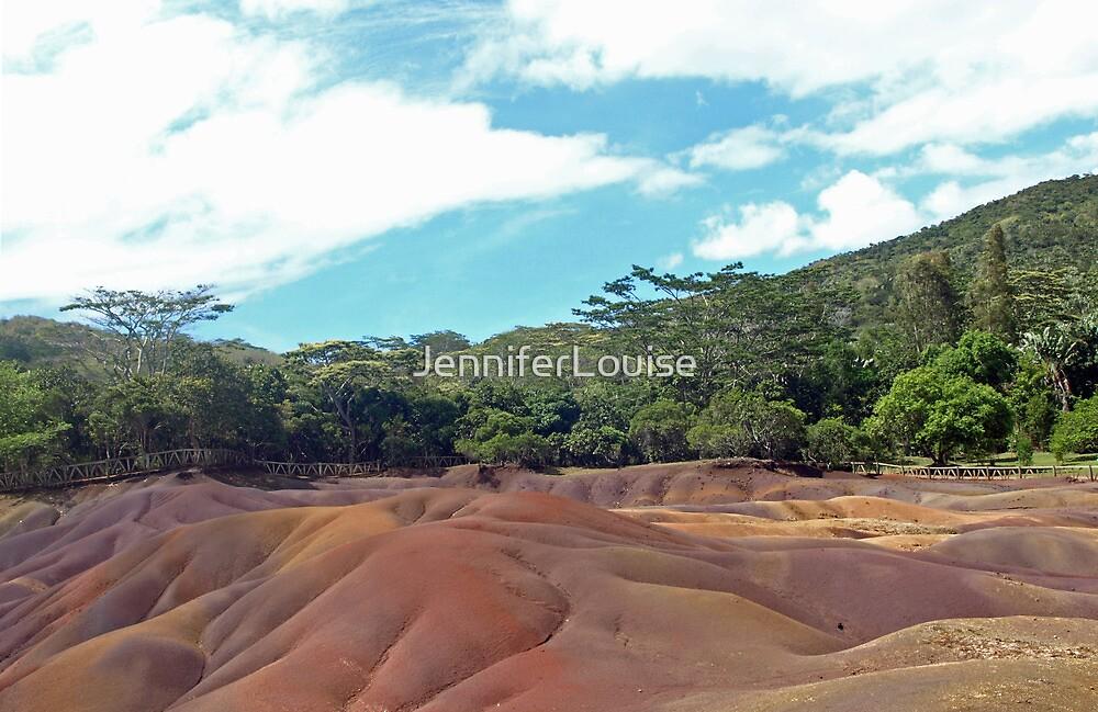 Seven coloured earth, Mauritius by JenniferLouise