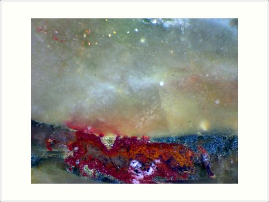 Starry Sky (Volcano Agate) by Stephanie Bateman-Graham