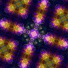 Dark Purple Kaleidoscope by pjwuebker