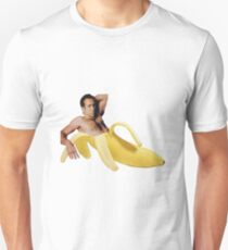Nicolas Cage In A Banana - Original Yellow Unisex T-Shirt