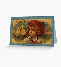 Yankee Boy Greetings Greeting Card