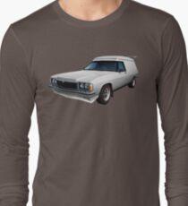 Illustrated HZ Holden Panel Van - White Long Sleeve T-Shirt