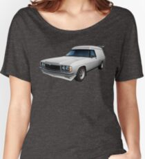 Illustrated HZ Holden Panel Van - White Women's Relaxed Fit T-Shirt