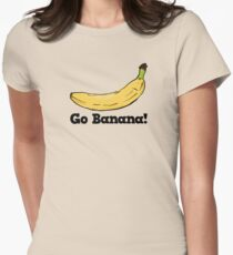 Go Banana! Womens Fitted T-Shirt