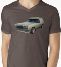 Illustrated HZ Holden Panel Van - Chamois Men's V-Neck T-Shirt