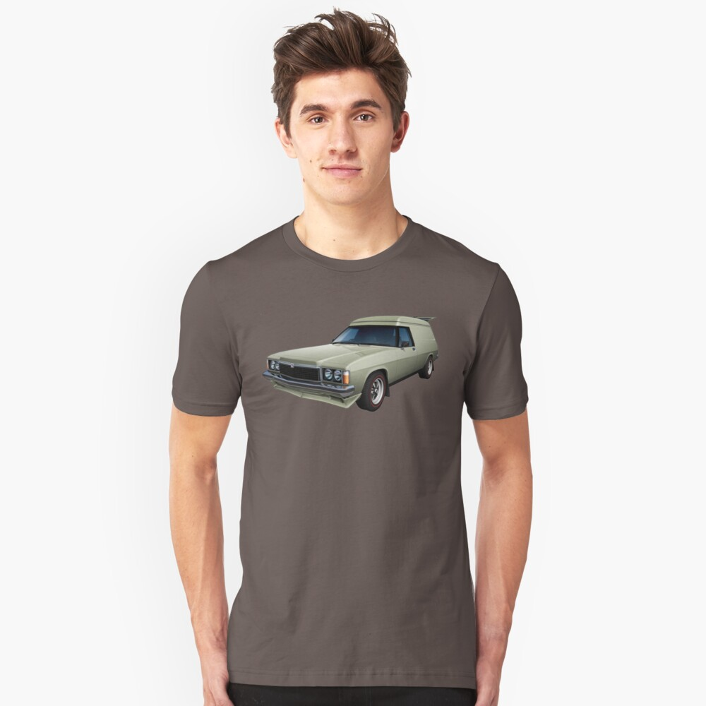 Illustrated HZ Holden Panel Van - Chamois Unisex T-Shirt Front