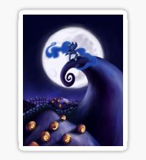 My Little Pony - MLP - Nightmare Before Christmas - Princess Luna's Lament Sticker