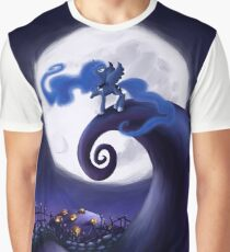 My Little Pony - MLP - Nightmare Before Christmas - Princess Luna's Lament Graphic T-Shirt