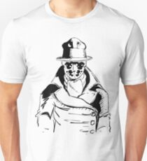 Rorschach from Watchmen Original Art T-Shirt