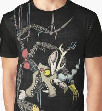 My Little Pony - MLP - FNAF - Discord Animatronic Graphic T-Shirt