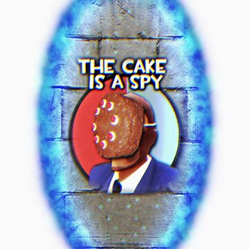 The Cake Is... A Spy?!? by Fastlines49s