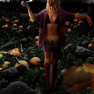 SkareKrow Goddess by knightware