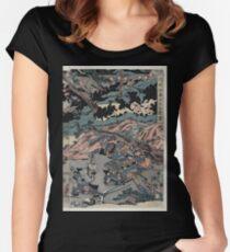 Kurikaradani ōgkassen zu 01613 Women's Fitted Scoop T-Shirt