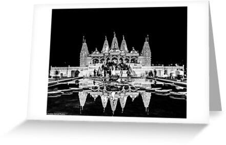 Temple Reflections by Krishan Bansal