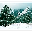 May Your Days Be Merry And Bright by Gregory J Summers