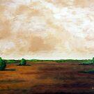 Serene Walk by Herb Dickinson